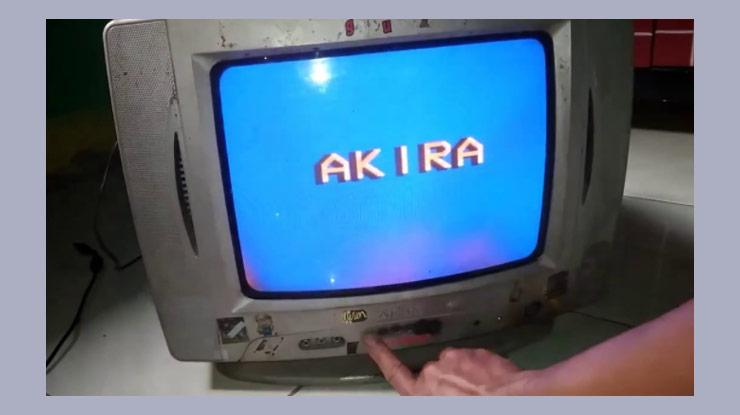 Cara Memperbaiki TV Akira Terkunci