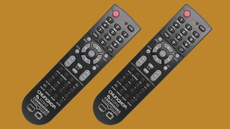 Daftar Kode Remote TV Chunghop
