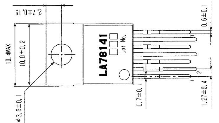 Datasheet IC LA78141