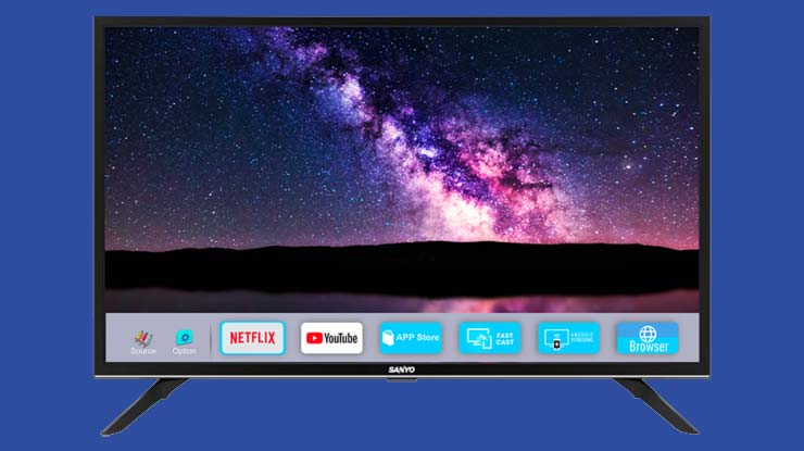 Firmware TV LED LCD Sanyo