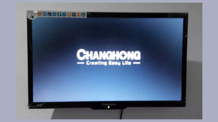 Membuka Password TV Changhong Yang Terkunci