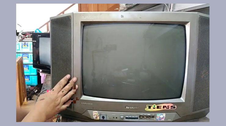 Membuka Password TV Sharp Tanpa Remot