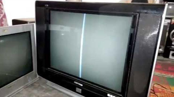 TV Polytron Slim Garis Vertikal