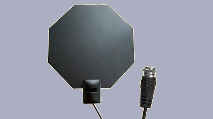 Antena TV Digital Indoor Bentuk Segi Delapan
