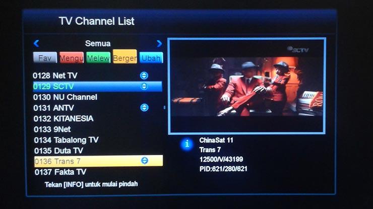 Cara Memprogram Channel Berbagai merk TV