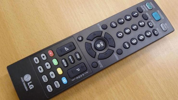 Daftar Kode Remot Universal TV LG LED
