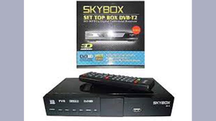 Skybox Set Top Box DVB T2
