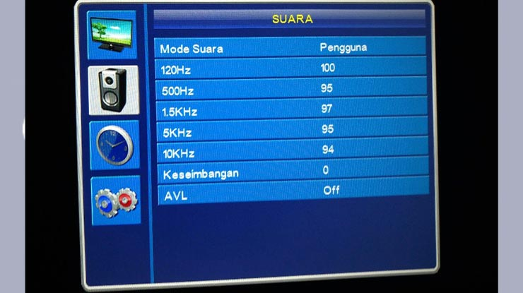 Tutorial Setting Suara TV