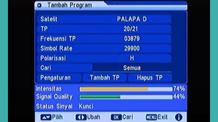 Cara Mencari Frekuensi Metro TV