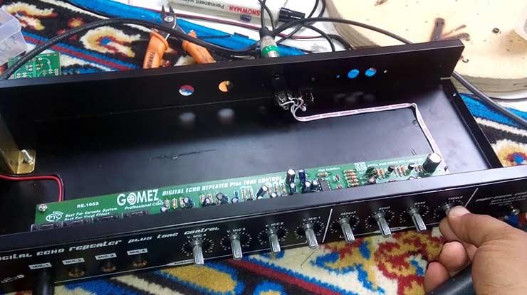 Diagram Cara Merakit Modul Elektronik Untuk Merakit Sebuah Mixer