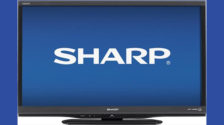 Flashing Firmware TV Sharp