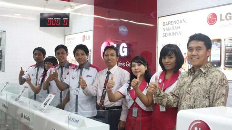 Alamat Service Center LG Di Beberapa Kota
