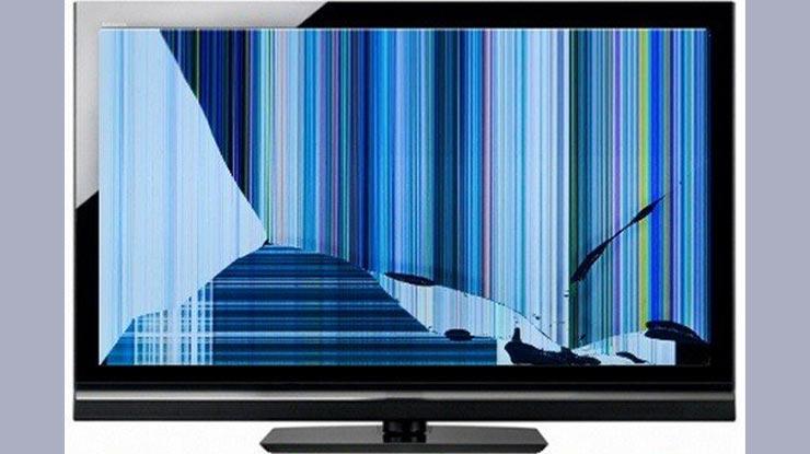 Biaya Service TV LED Pecah.