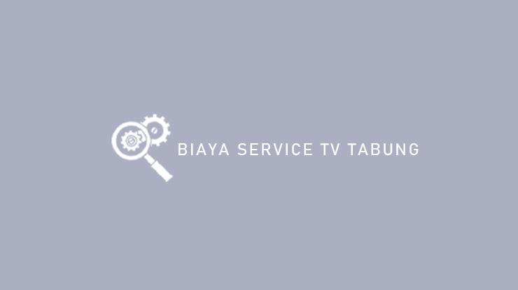 Biaya Service TV Tabung