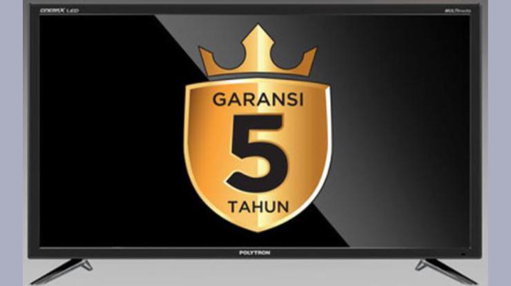 Garansi TV Polytron 2021
