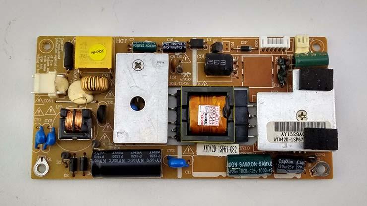 Skema Power Supply TV LED Polytron.