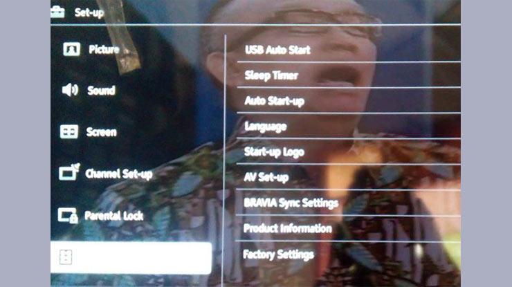 TV LED Sony Bravia Restart Terus Protek