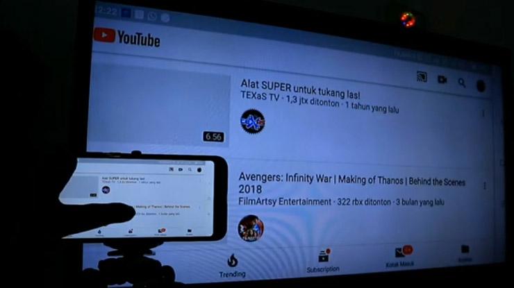 Chromecast sudah siap dipakai untuk nonton Youtube