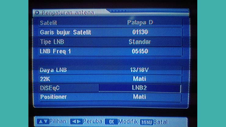 Frekuensi ANTV Di Satelit Palapa D