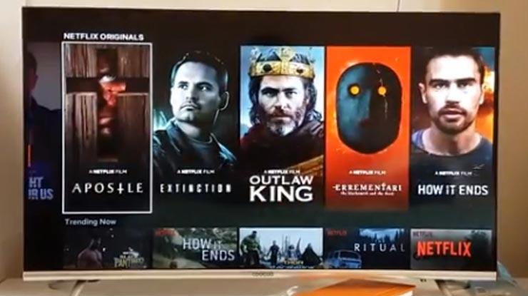 Pilih video yang akan ditonton lalu tekan Play untuk mulai memutar dan nonton Netflix
