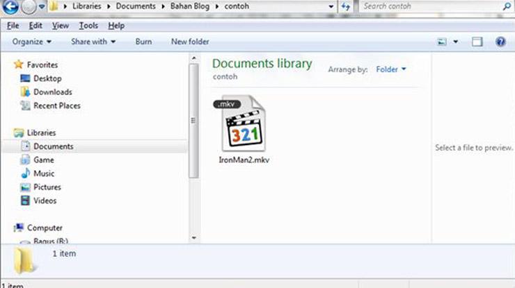 Selanjutnya buka edit subtitle film ekstensi SRT atau SUB memakai notepad atau editor teks lain.
