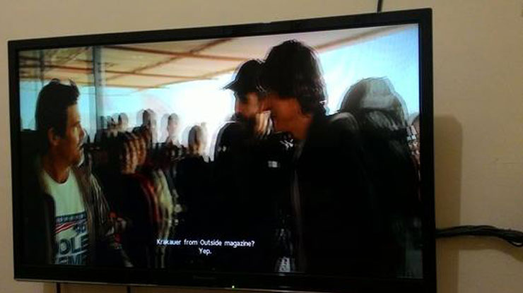 TV dapat menampilkan subtitle.