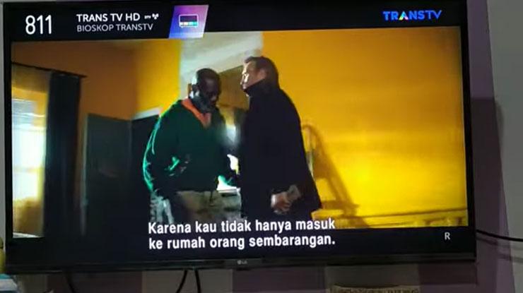 Tunggu Televisi Mendapatkan Siaran