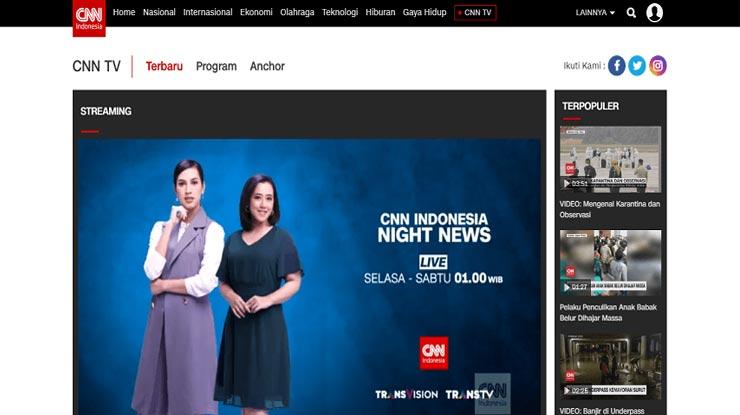 Website Resmi Stasiun TV