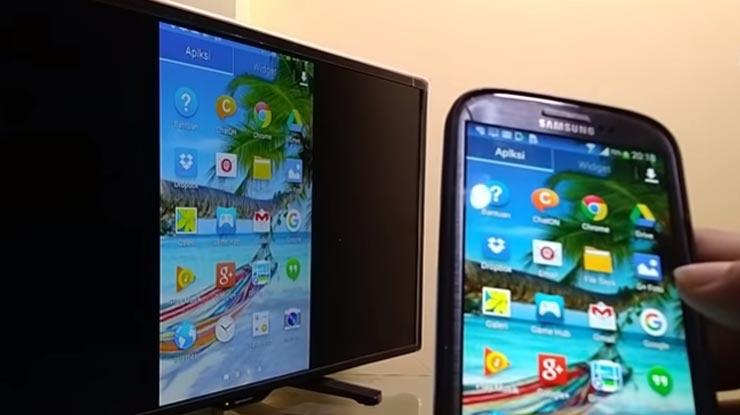 kedua perangkat terkoneksi