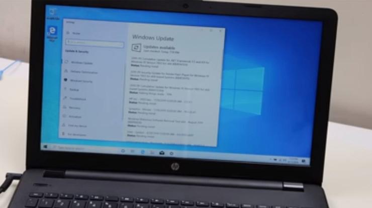 windows 10 pada laptop sudap terbaru