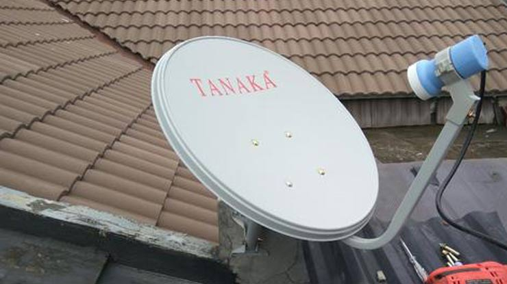 Cara Setting Parabola Tanaka.