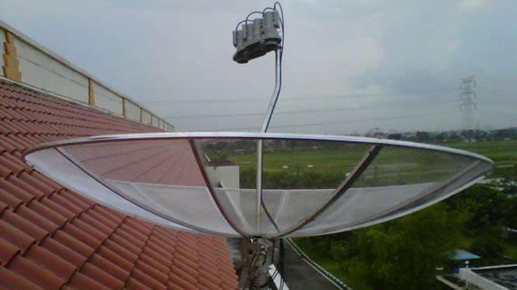Penyebab Kualitas Sinyal Parabola 0.