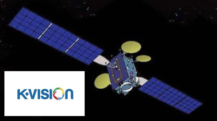 Frekuensi LNB Telkom 4 K Vision.