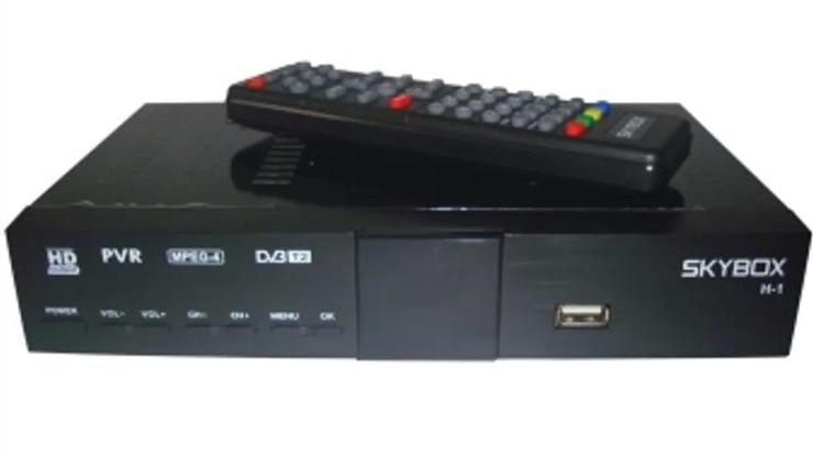 SKYBOX Set Top Box DVB T2 2