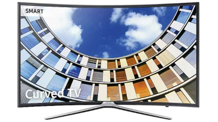 Samsung 49 Inch Full HD Curved Smart TV M6300