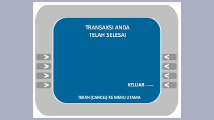 Bayar tagihan Transvision selesai