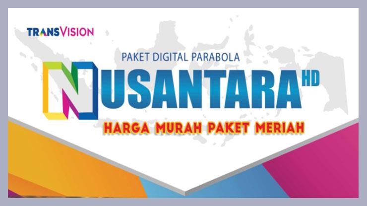 Cara Beli Paket Transvision Nusantara HD. 1