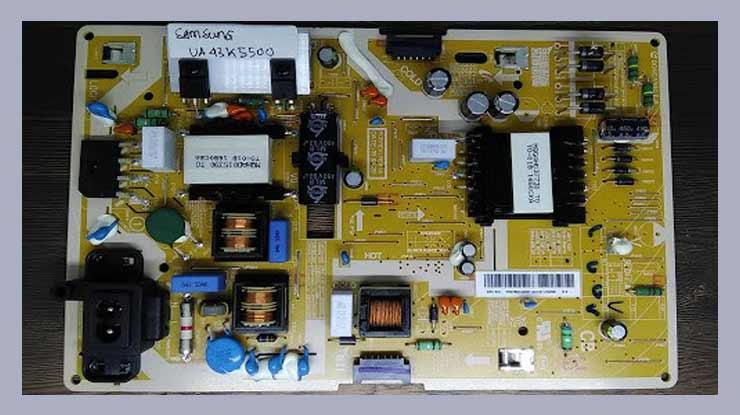 Cara Mengukur Tegangan Power Supply TV LED.