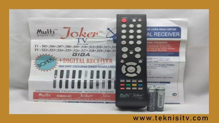 Cara Setting Kode Remot Joker Digital Untuk Receiver