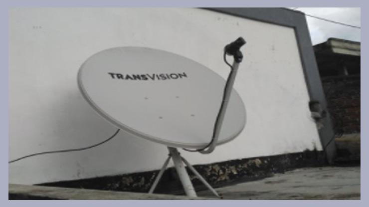 Cara Tracking Transvision Ku Band