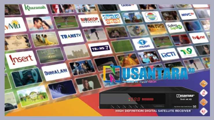 Daftar Channel Transvision Nusantara HD