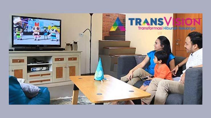 Daftar Saluran Transvision Nusantara HD