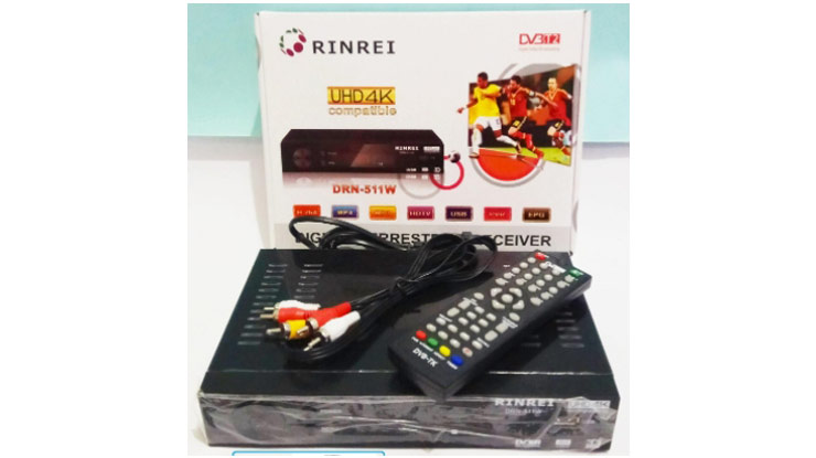 STB Rin Rei Sky TV Digital DV3 T2 ORIGINAL I DVB
