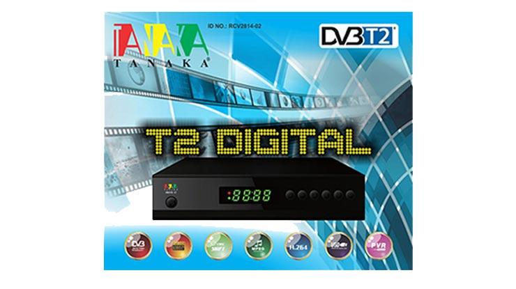 STB Skybox DVB T2 TV Digital Tanaka