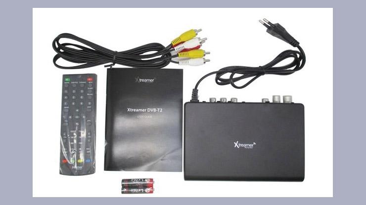 Set Top Box DVB T2