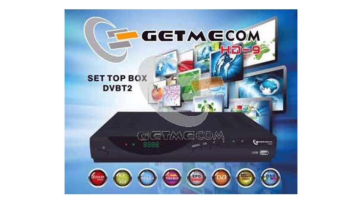 Set Top Box GETMECOM DVB T2 HD 9