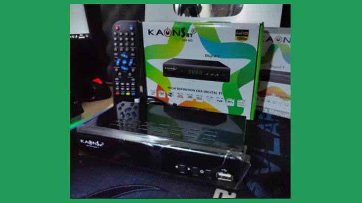 Set Top Box KAONSAT DVB TT2
