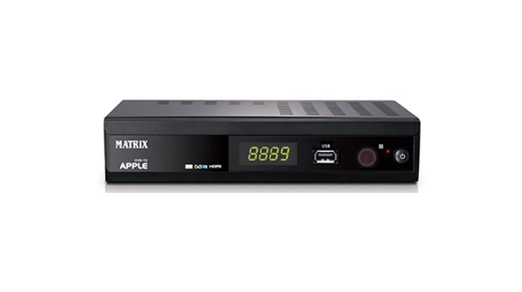 Set Top Box Matrix Apple DVB T2