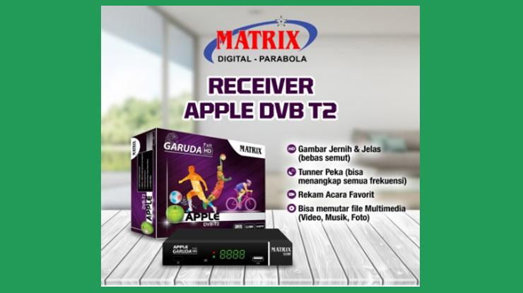 Set Top Box Matrix Apple Garuda