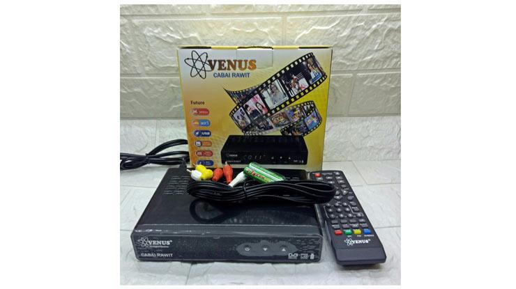 Set Top Box TV Digital DVB T2 Venus
